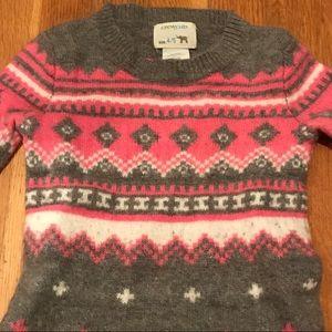 Girls Crewcuts ski sweater